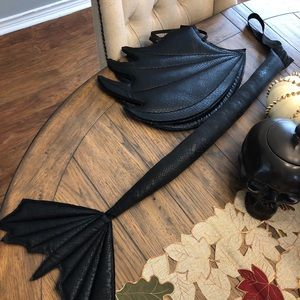 Kids Dragon Costume Pieces- Toothless